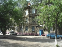 Novokuibyshevsk, Sovetskaya st, house 8. Apartment house