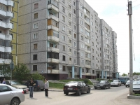 Novokuibyshevsk, Stroiteley st, house 1. Apartment house