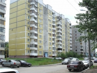 Novokuibyshevsk, Stroiteley st, house 3. Apartment house