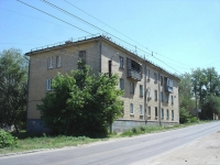 Novokuibyshevsk, Suvorov st, house 19А. Apartment house