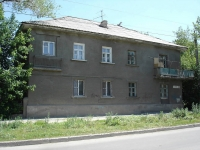 Novokuibyshevsk, Suvorov st, house 35. Apartment house