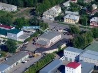 Новокуйбышевск, улица Суворова, дом 14. многофункциональное здание
