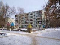 Новокуйбышевск, улица Суворова, дом 15А. многоквартирный дом