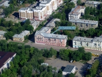 Novokuibyshevsk, Suvorov st, house 43. Apartment house