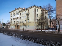 Novokuibyshevsk, Suvorov st, house 45. Apartment house