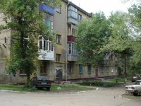 Novokuibyshevsk, Uspensky st, house 3. Apartment house