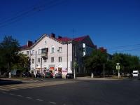 Новокуйбышевск, улица Чернышевского, дом 7. многоквартирный дом