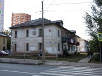 Novokuibyshevsk, alley Shkolny, house 14. Apartment house