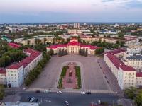 Novokuibyshevsk, sq Lenin. square