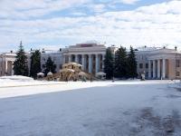 Новокуйбышевск, площадь Ленина, дом 1. театр