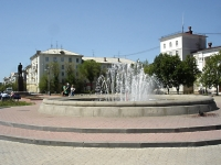 Novokuibyshevsk, fountain на площади ЛенинаLenin sq, fountain на площади Ленина