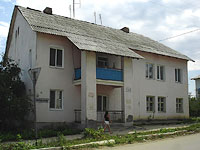 Oktyabrsk, Volgo-Donskaya st, house 1. Apartment house