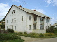 Oktyabrsk, Volgo-Donskaya st, house 2. Apartment house