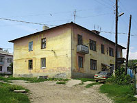 Oktyabrsk, Volgo-Donskaya st, house 8А. Apartment house