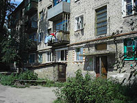 Oktyabrsk, Dzerzhinsky st, house 6. Apartment house