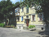 Oktyabrsk, Dzerzhinsky st, house 12. Apartment house