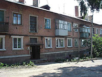 Oktyabrsk, st Dzerzhinsky, house 14. Apartment house