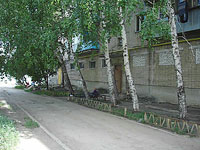 Oktyabrsk, Mira st, house 167. Apartment house