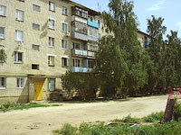 Oktyabrsk, Michurin st, house 3. Apartment house