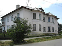 Oktyabrsk, Michurin st, house 7. Apartment house