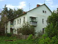 Oktyabrsk, Michurin st, house 8. Apartment house