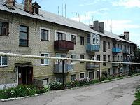 Октябрьск, улица Мичурина, дом 11. многоквартирный дом