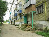 Октябрьск, улица Мичурина, дом 17. многоквартирный дом