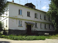 Oktyabrsk, 3rd Ln, house 2. Apartment house