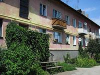 Октябрьск, улица Центральная, дом 1А. многоквартирный дом