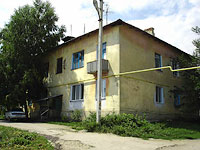 Oktyabrsk, Tsentralnaya st, house 7. Apartment house