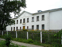 Oktyabrsk, Tsentralnaya st, house 14. Apartment house