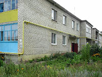 Oktyabrsk, Tsentralnaya st, house 16. Apartment house