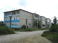Oktyabrsk, Tsentralnaya st, house 19. Apartment house