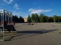Отрадный, улица Отрадная. спортивная площадка