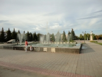 Отрадный, фонтан на площади перед ДК РОССИЯулица Первомайская, фонтан на площади перед ДК РОССИЯ