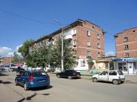 Otradny, Pionerskaya st, house 14. Apartment house