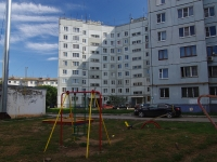Otradny, Pobedy st, house 1А. Apartment house