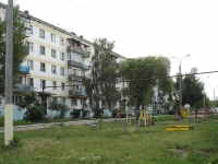 Chapaevsk, Vokzalnaya st, house 14. Apartment house