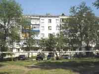 Chapaevsk, Zheleznodorozhnaya st, house 77. Apartment house