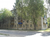Chapaevsk, Zheleznodorozhnaya st, house 89. Apartment house
