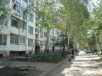 Chapaevsk, Zaporozhskaya st, house 37. Apartment house
