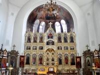 Чапаевск, храм Во имя святаго преподобного Сергия Радонежского, улица Комсомольская, дом 3А