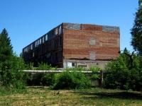 Чапаевск, улица Октябрьская, дом 4. аварийное здание