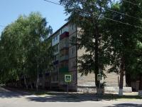 Чапаевск, улица Октябрьская, дом 5. многоквартирный дом