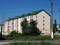 Чапаевск, улица Октябрьская, дом 11. многоквартирный дом