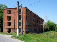 恰帕耶夫斯克市,  , house 14. 紧急状态建筑