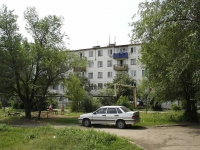 Chapaevsk, Frunze st, house 6. Apartment house