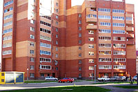 Togliatti, 40 Let Pobedi st, house 11А. Apartment house