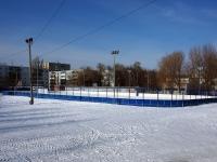 Тольятти, улица Лесная. спортивная площадка