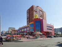 "neighbour house: st. 70 let Oktyabrya, house 31 с.1. shopping center ""Бегемот"""